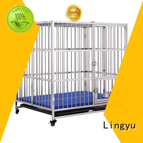 Lingyu best dog cage for busniess for sale