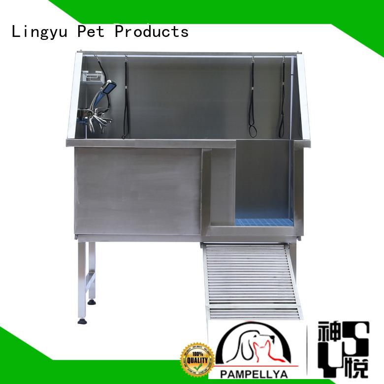 Lingyu hot sale pet bathtub factory for sale