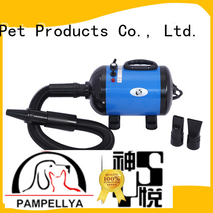 Lingyu dual motor pet hair dryer with stand for dogs