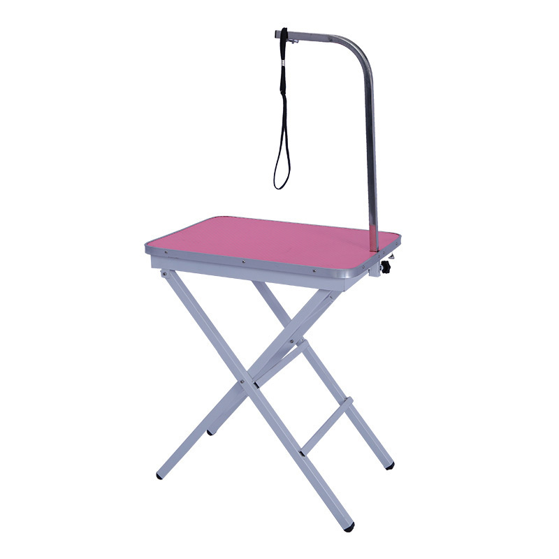 Pink Foldable Pet Grooming show Table SF-601