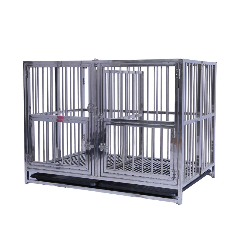 Long service life xxxl metal dog show cage dog cage stainless steel GMC-119/GMC-139