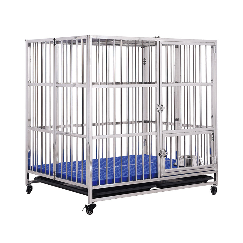 2 Door Pet Wire Dog Cage house for Heavy Duty Dog GFC-78/94/104/119/139