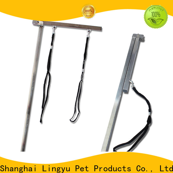 Lingyu pet grooming table arm supplier for pet hospital