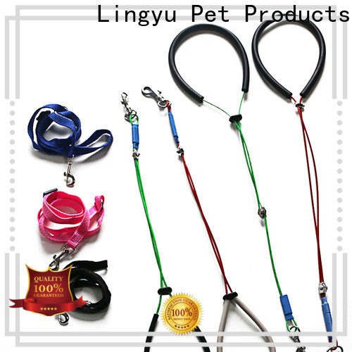 Lingyu custom pet grooming accessories kits for sale