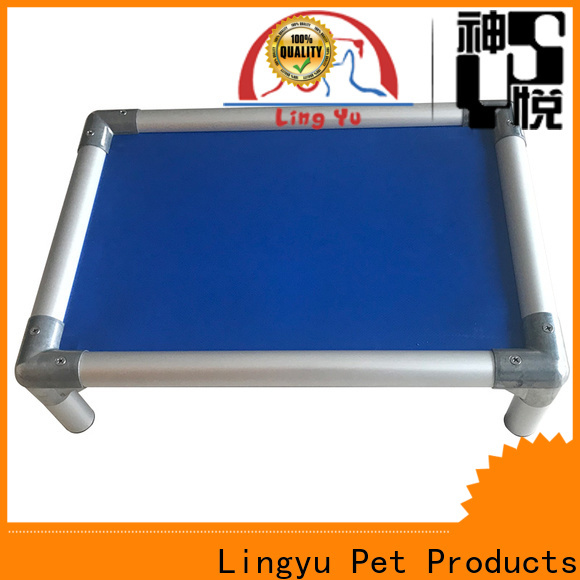 Lingyu wholesale elevated pet cot for busniess for pet