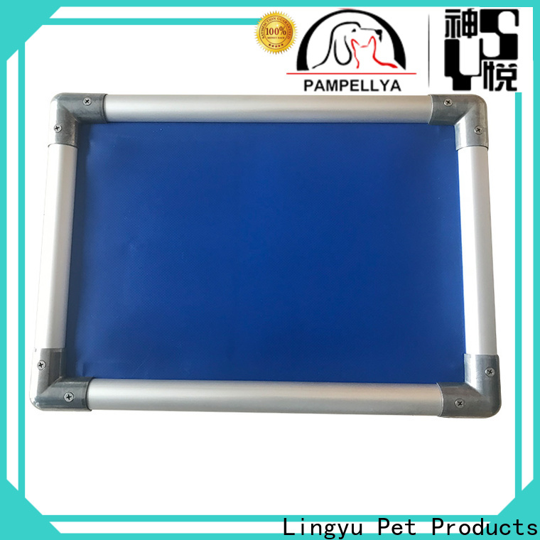 Lingyu cheap raised dog beds factory for pet
