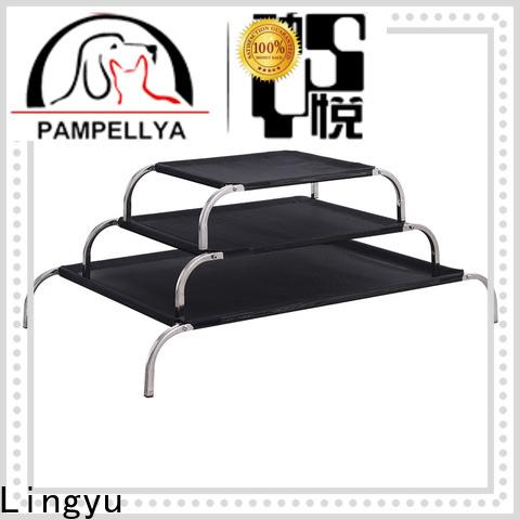 Lingyu best raised dog bed company for pet hospital