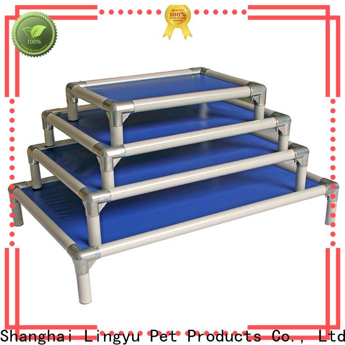 screen cloth elevated cooling dog bed supplier for pet