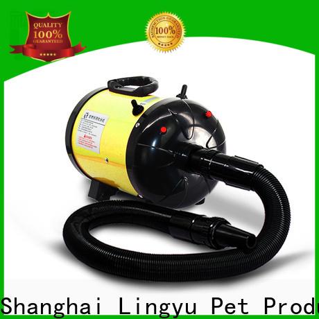 Lingyu stepless best pet hair dryer manufacturer for pet hospital