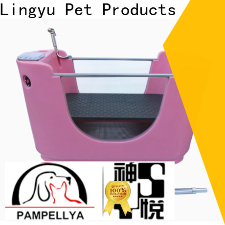 Lingyu pet bathtub factory for shower