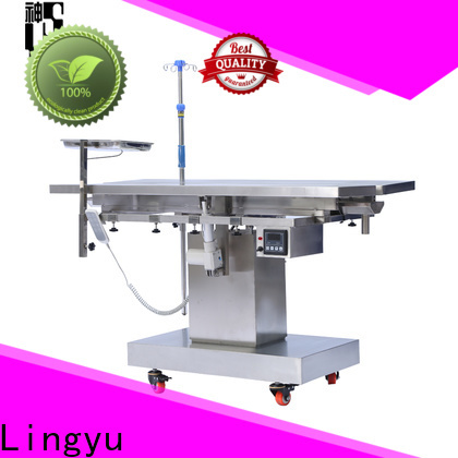 Lingyu pet operating table manufacturer for dogs