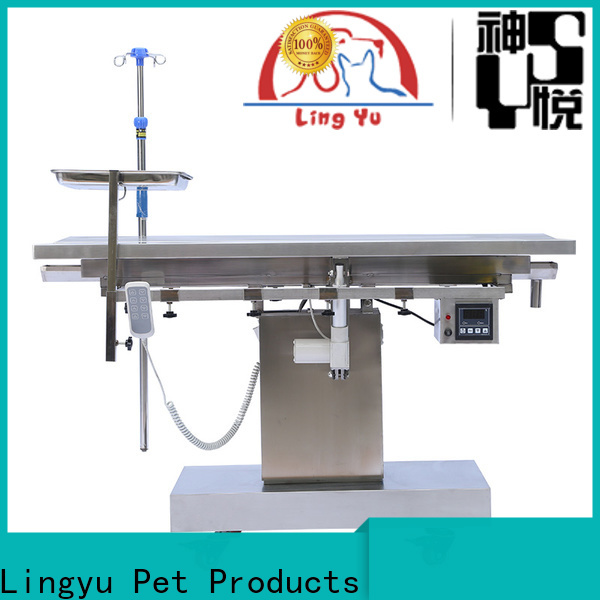 Lingyu best pet operating table supplier for pets