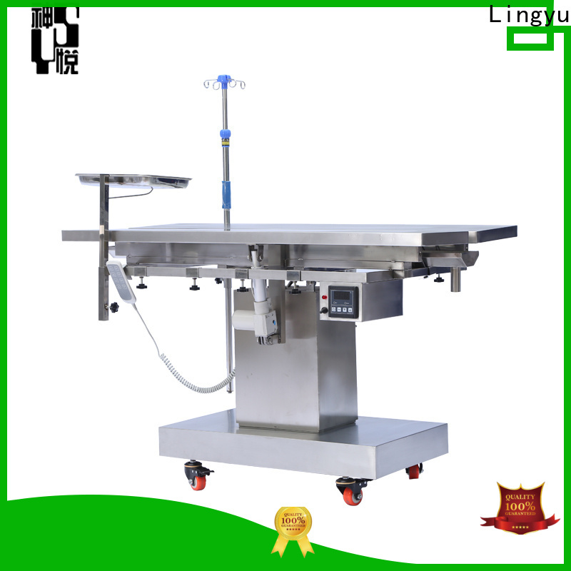 Lingyu v type veterinary operating table factory for dogs