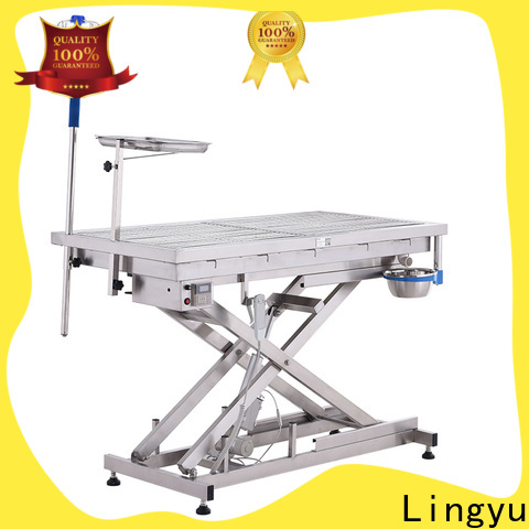 Lingyu veterinary operating table supplier for pets