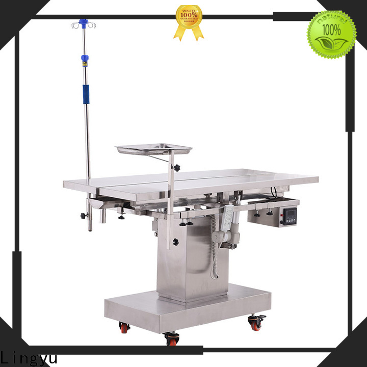 Lingyu latest pet operating table company for dogs