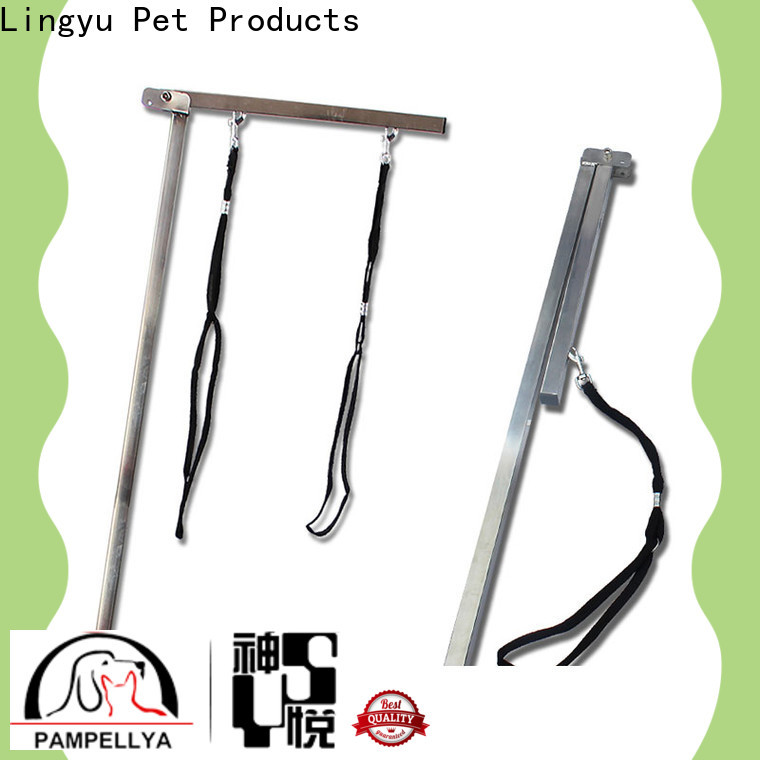 Lingyu new dog grooming arm company for kennel