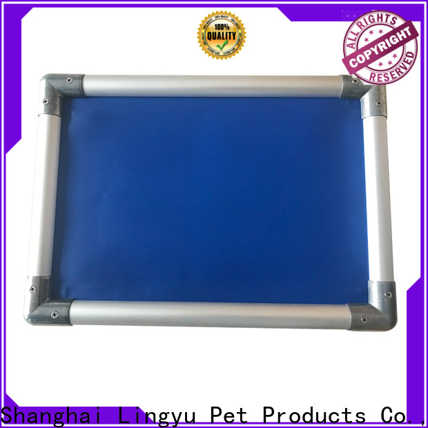 colour cot style raised pet bed factory for sale