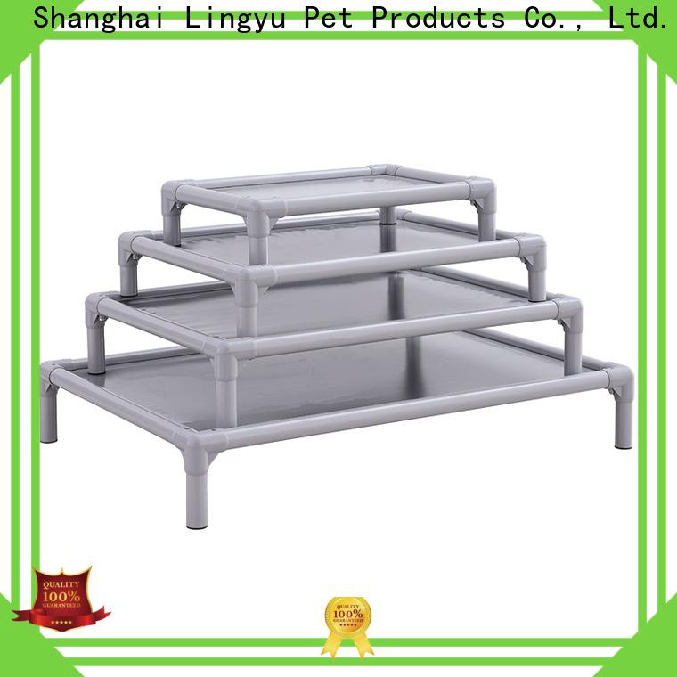 Lingyu animal shaped elevated cooling dog bed supplier for pet hospital