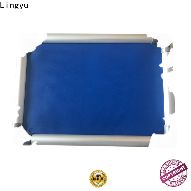 Lingyu custom elevated cooling dog bed cooling bed for pet hospital