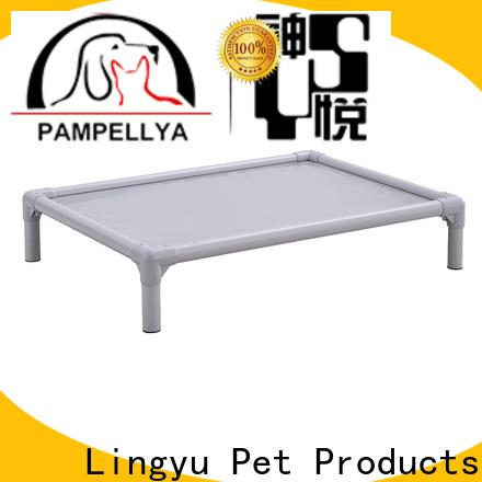 Lingyu raised pet bed manufacturer for pet