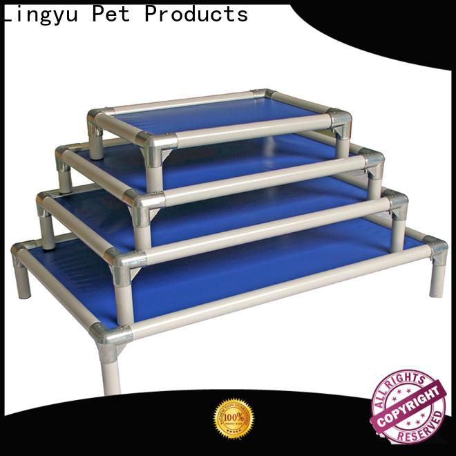 custom raised dog bed manufacturer for pet hospital