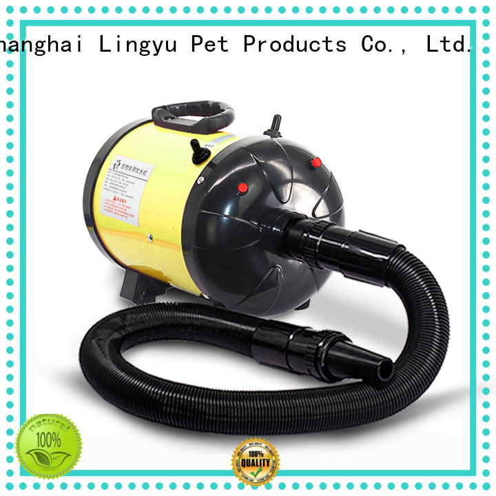 Lingyu high quality pet grooming hair dryer manufacturer for pets