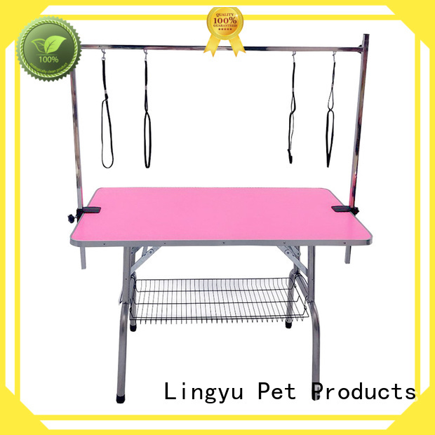 Lingyu hydraulic grooming table supplier for pet