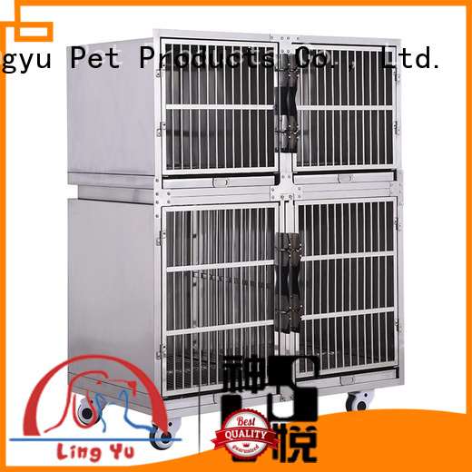dog cage with movable tray for pets Shenyue&Lingyu