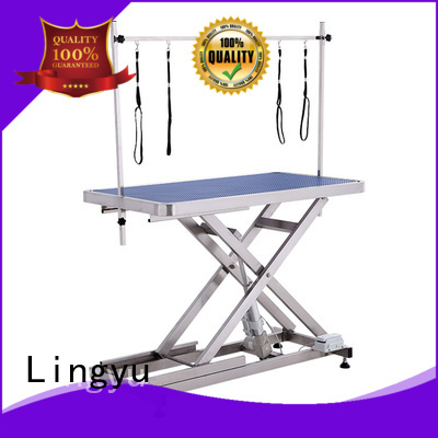 Lingyu grooming table supplier for pet hospital