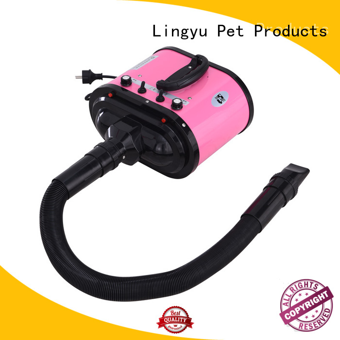 Lingyu new best pet dryer with stand for pet hospital
