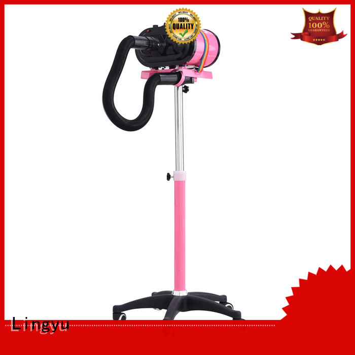 Lingyu double motor pet dryer for busniess for dogs