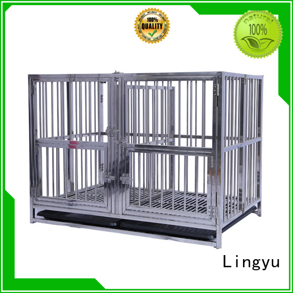 Lingyu wholesale pet cage factory for home