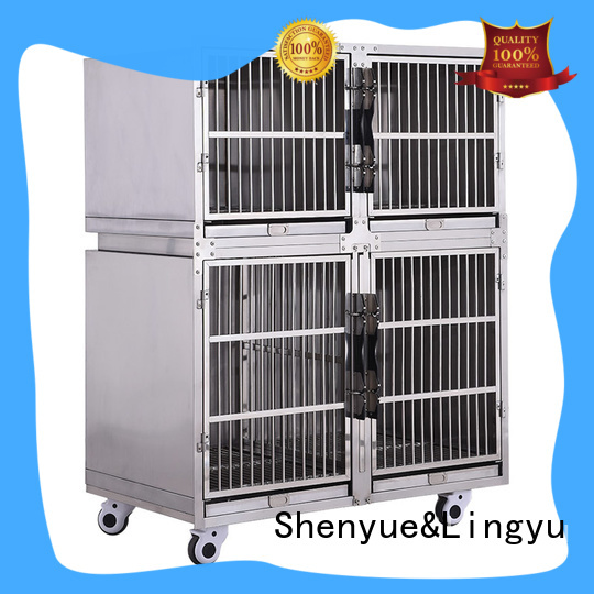 Shenyue&Lingyu long service life dog crate house for pet hospital