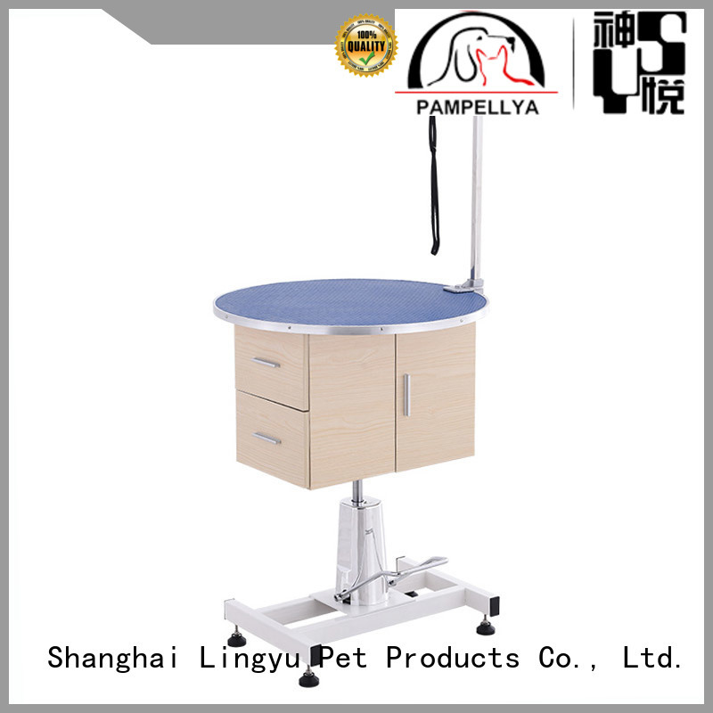 Lingyu hydraulic grooming table manufacturer for pet