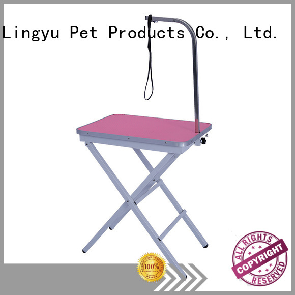Lingyu height grooming table factory for sale