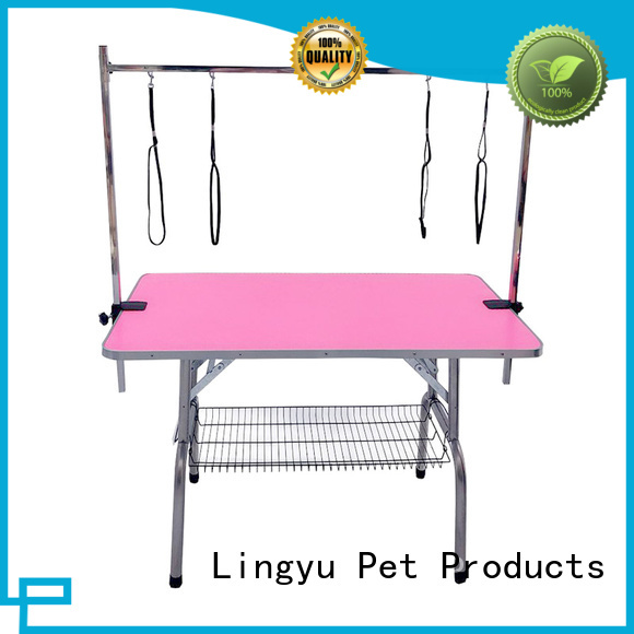 Shenyue&Lingyu hydraulic grooming table wholesale for pet hospital