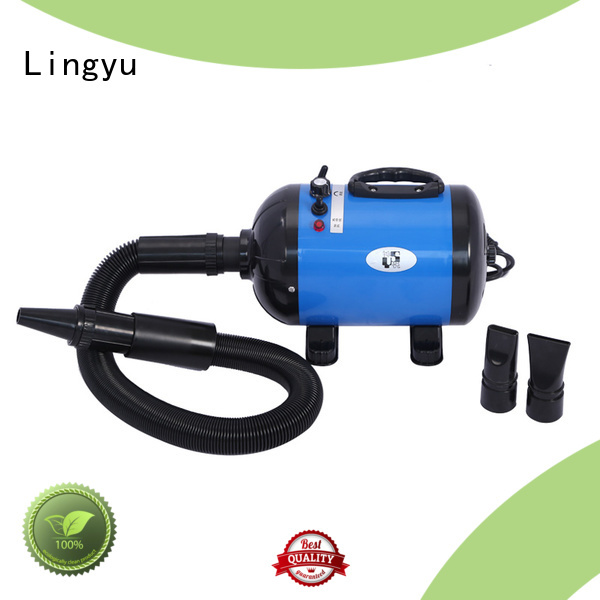Lingyu blow pet hair dryer blower for dogs