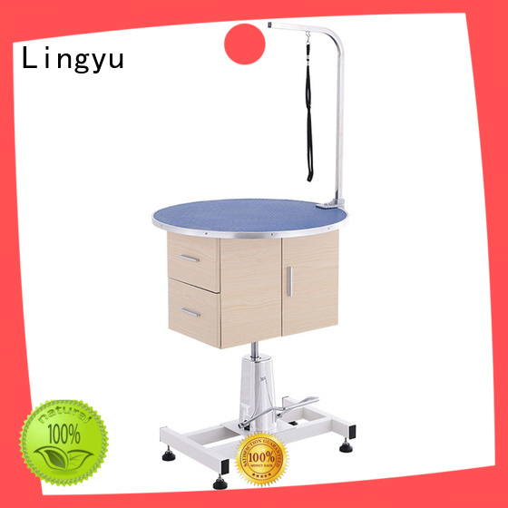 Lingyu show dog grooming table factory for pet hospital