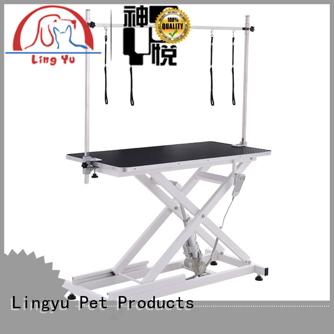 Lingyu pet grooming table manufacturer for pet hospital