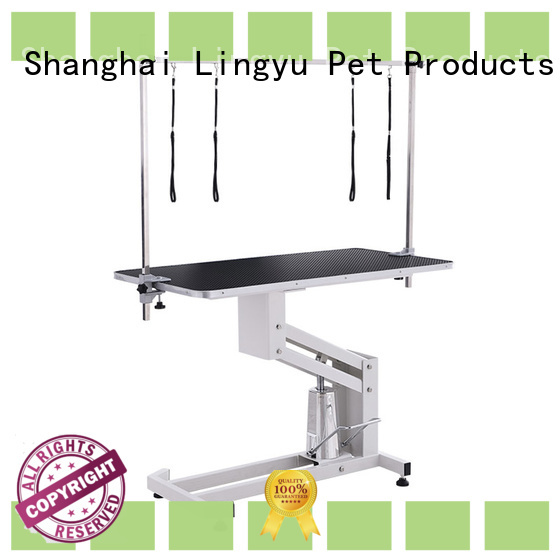 lifting hydraulic grooming table manufacturer for pet hospital