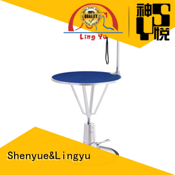 Shenyue&Lingyu aeolus hydraulic grooming table supplier for pet hospital