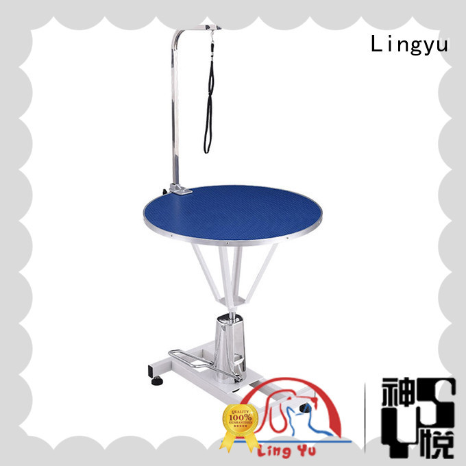 Lingyu black grooming table company for sale