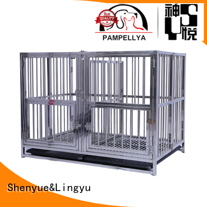 design pet cage with movable tray for pets