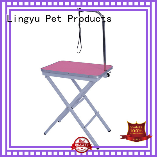 Lingyu grooming table company for sale