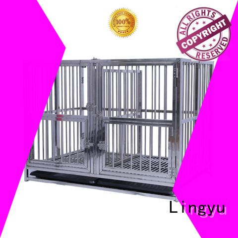 Lingyu wholesale pet cage house for pet hospital