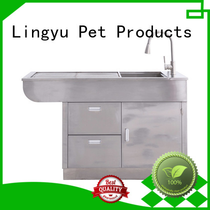 Lingyu pet operating table factory for sale