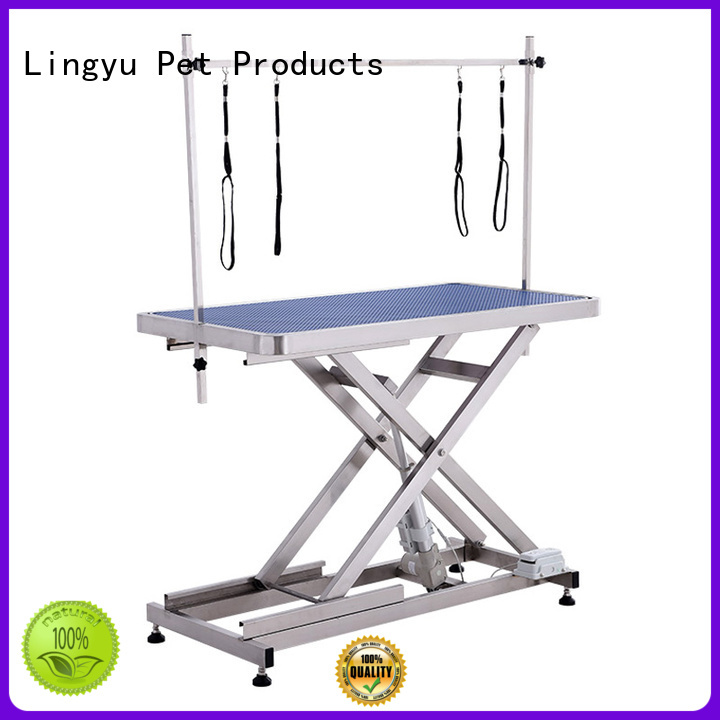 Lingyu custom hydraulic grooming table company for sale