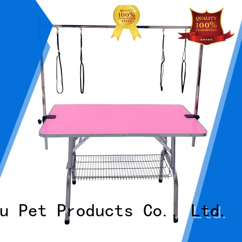 Lingyu hydraulic grooming table company for pet hospital