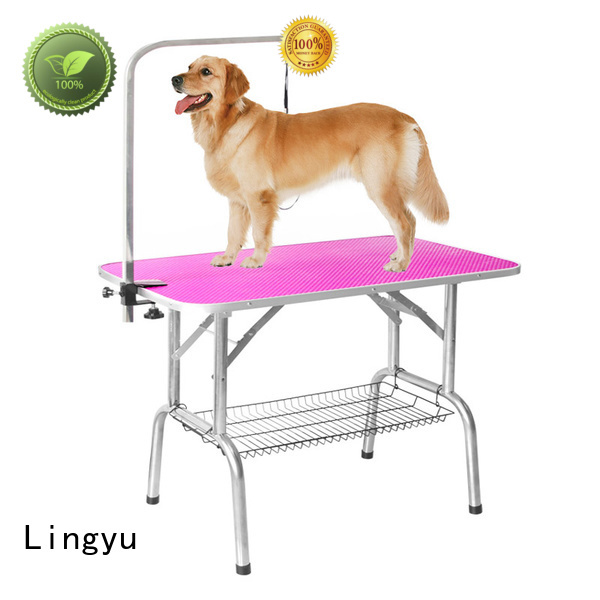 Lingyu pet grooming table company for sale
