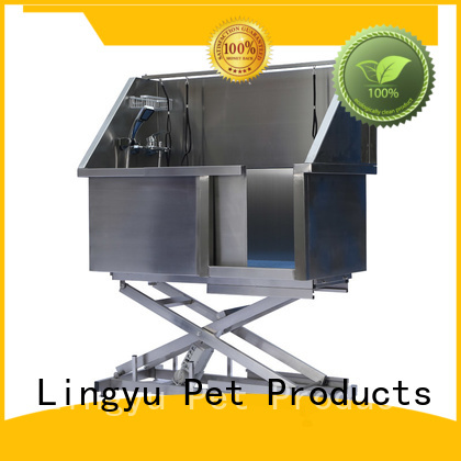 new dog bath tub factory for pet hospital